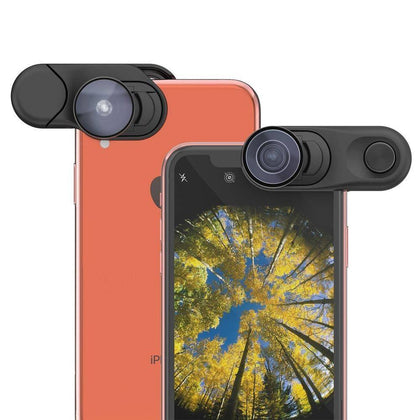 Olloclip - Fisheye + Super-Wide + Macro Essential Lenses For Iphone Xr - Black, OC-0000297-EU - 2071MALL
