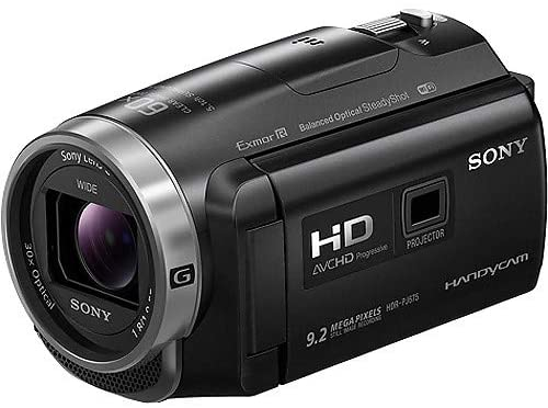 Sony HDR-PJ675 Handycam with Built-in Projector - Black,B07PK4RH84 - 2071MALL