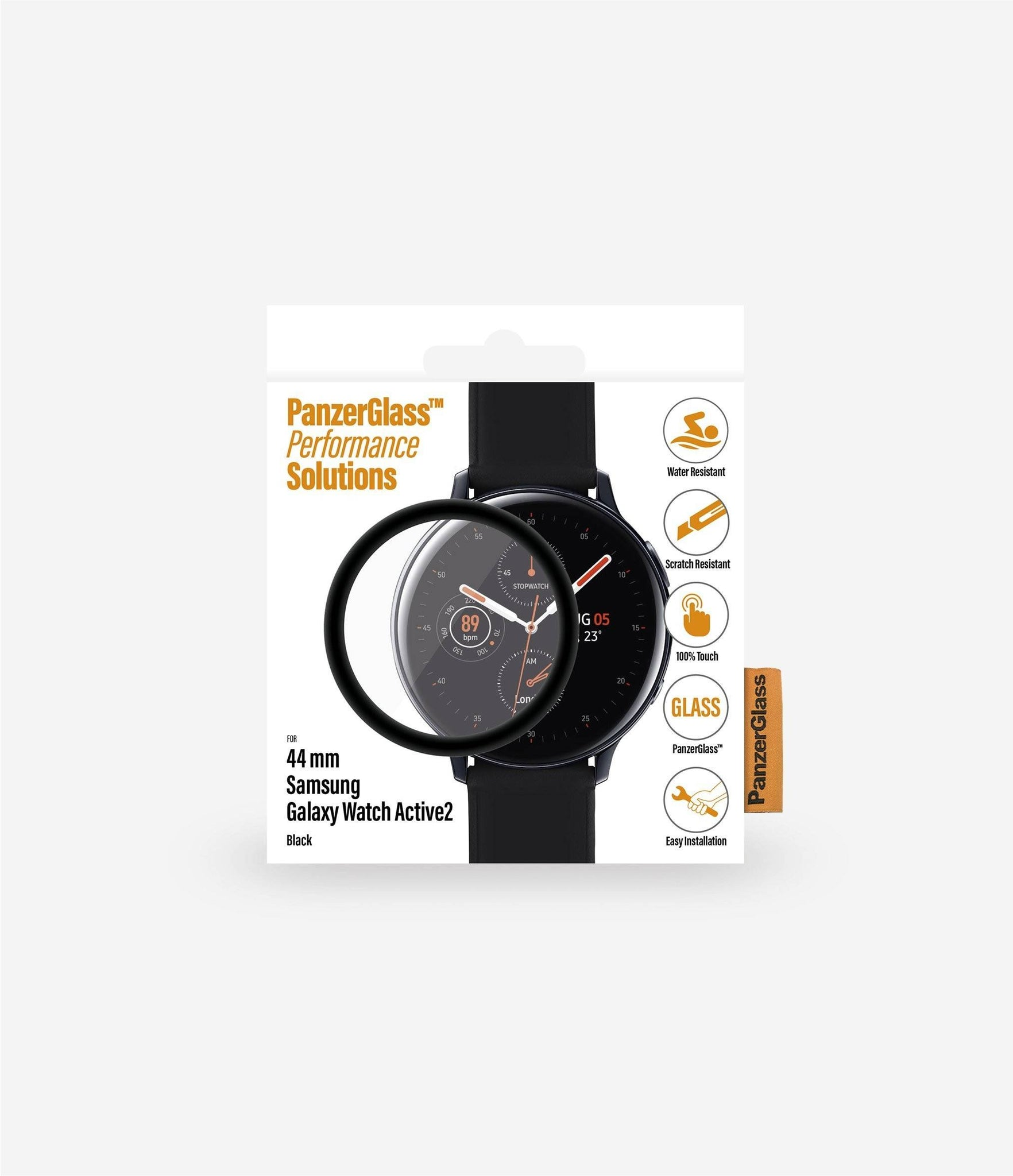 PanzerGlass - Samsung Galaxy Watch Active 2 Screen Protector 44 mm - Clear, PNZ7207 - 2071MALL