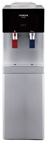 Hitachi 2-Tap Water Dispenser, HWD4000 Silver - 2071MALL