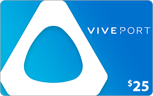 Viveport $25 US Dollar (USD) - Account details will be sent via email within 24 - 48 hours. Prepaid Only - 2071MALL