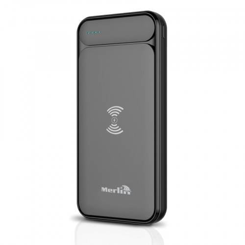 Merlin Flash 10k Wireless Powerbank - Black, 589525 - 2071MALL