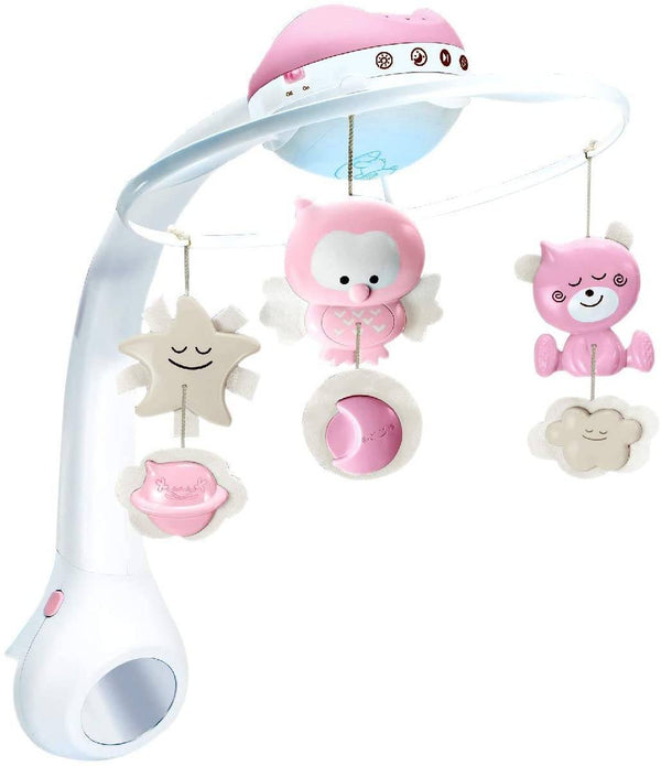 Infantino 3 In 1 Projector Musical Mobile (Pink)