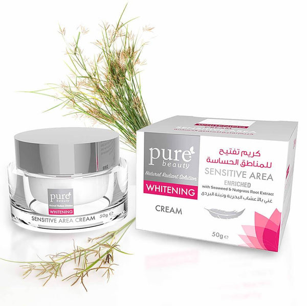 Pure Beauty - Whitening Cream For Sensitive Area 50g