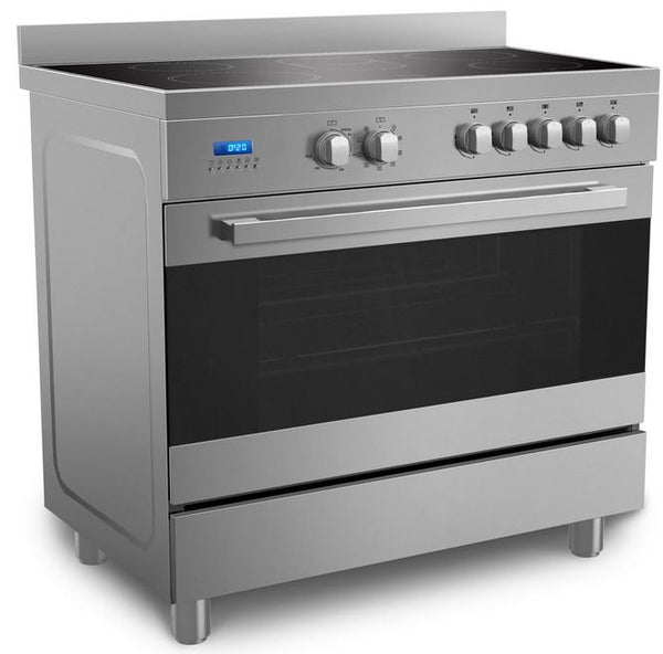 Midea 90 x 60 cm Ceramic Cooker with Schott Glass and Full Safety VSVC96048 - 2071MALL