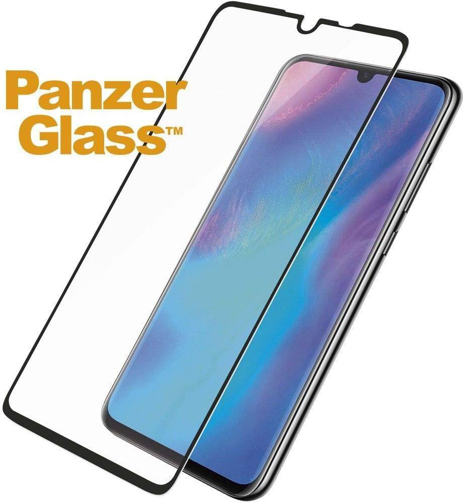 PanzerGlass - Tempered Glass Screen Protector for Huawei P30 - Black, PNZ5334 - 2071MALL