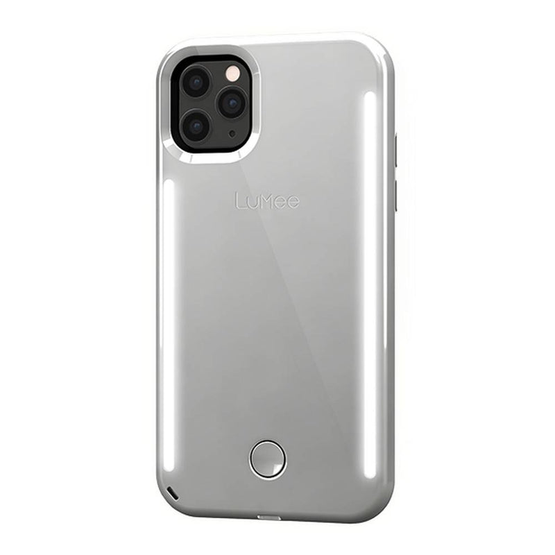 Lumee - Duo Case for iPhone 11 Pro - Mirror - Silver, LM-041720 - 2071MALL