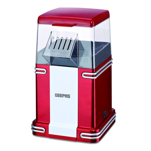 Geepas Popcorn Maker 12000W 1x6 - Red, GPM841 - 2071MALL