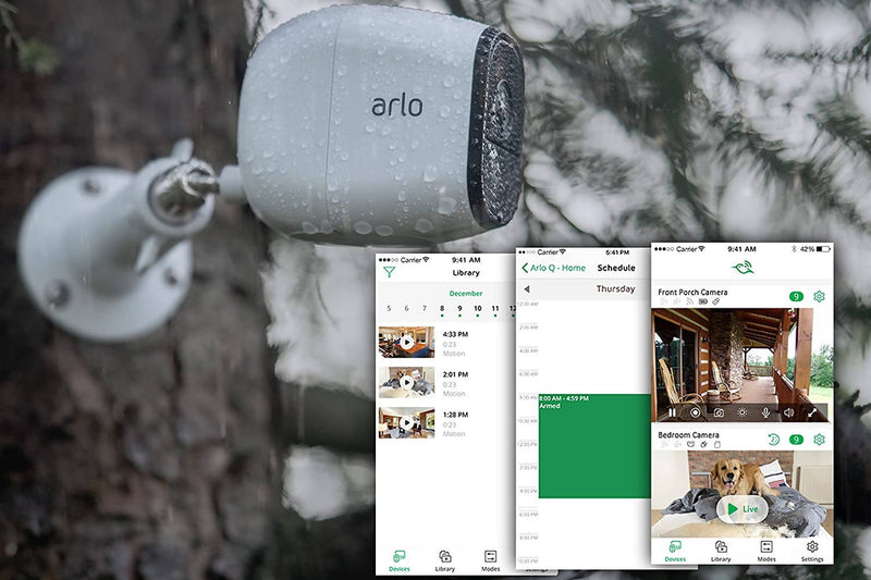 Arlo Pro - Add-on Camera | Rechargeable, Night vision, Indoor/Outdoor, HD Video, 2-Way Audio, Wall Mount | Cloud Storage Included | Works with Arlo Pro Base Station (VMC4030) - 2071MALL
