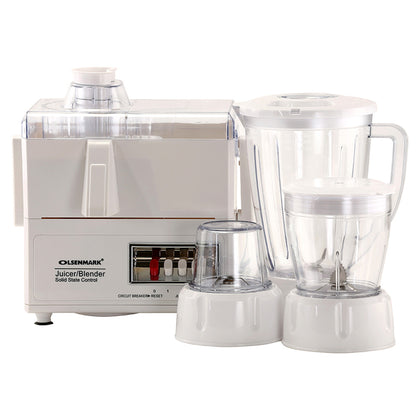 Olsenmark 4 in1 Food Processor /OMSB2137 - 2071MALL