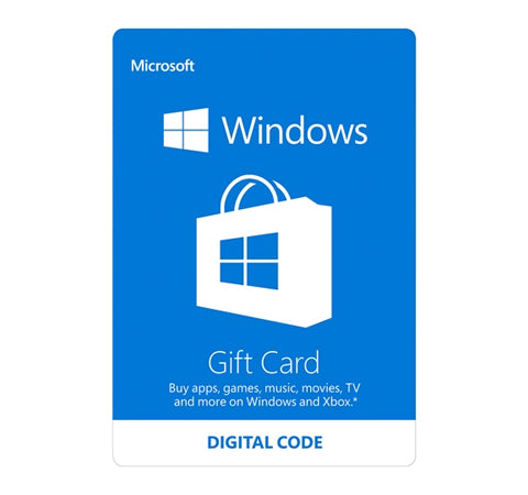 Windows Store Canada $50 Canadian Dollar (CAD)- Instant Delivery (Prepaid Only) - 2071MALL
