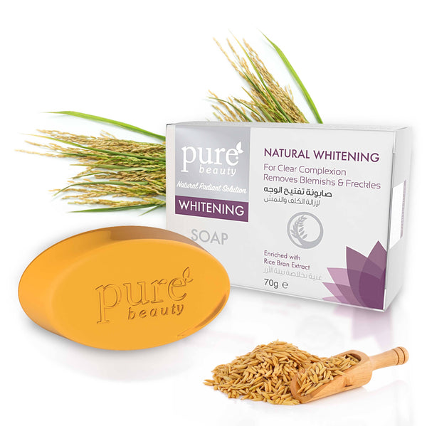 Pure Beauty - Whitening Glycerin Soap Natural Whitening 70g