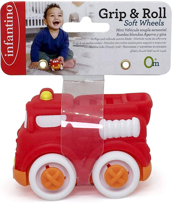 Infantino Infantino-Grip & Roll Soft Wheels(Header With Elastic Band)