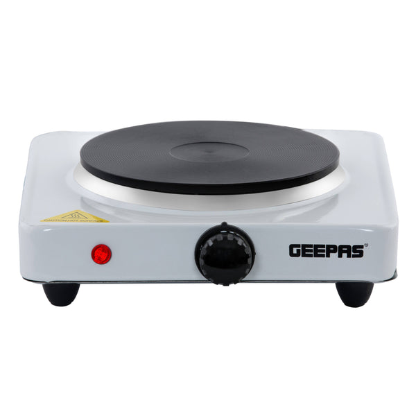 Geepas Electric Single Hot Plate 1x10 - White, GHP32011 - 2071MALL