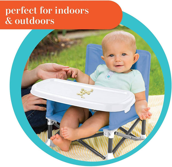 Summer Infant Pop 'N Sit® Portable Booster (Dusty Blue)