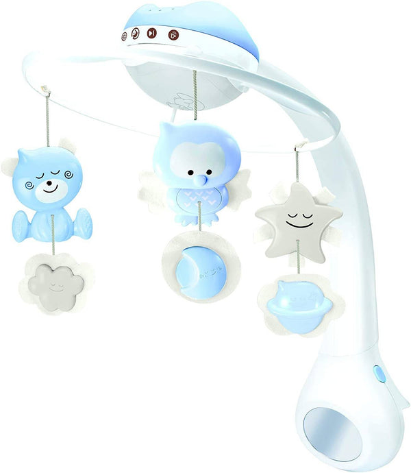 Infantino 3 In 1 Projector Musical Mobile (Blue)