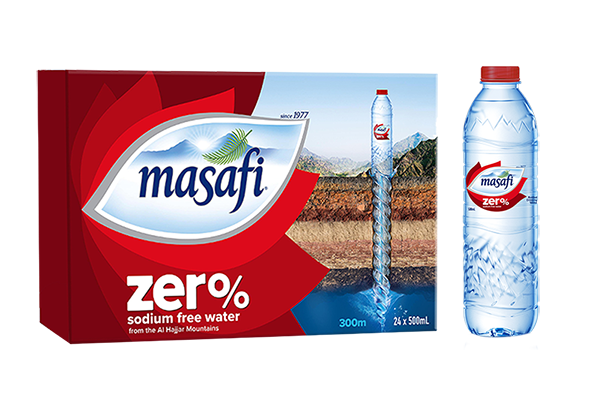MASAFI Zero 500ml x 24 Bottles Carton - 2071MALL