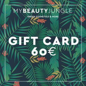 Buono regalo valore sessanta euro per acquisti su MyBeautyJungle.it