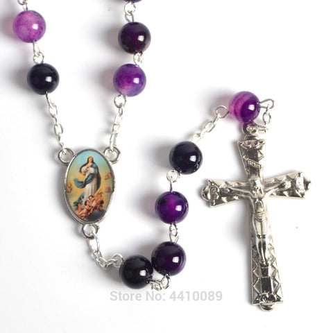 Gemstone Rosary Beads