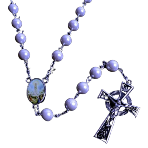 Purple Beads Rosary