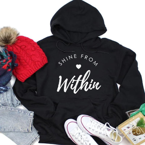 Shine From Love Within Hoodie