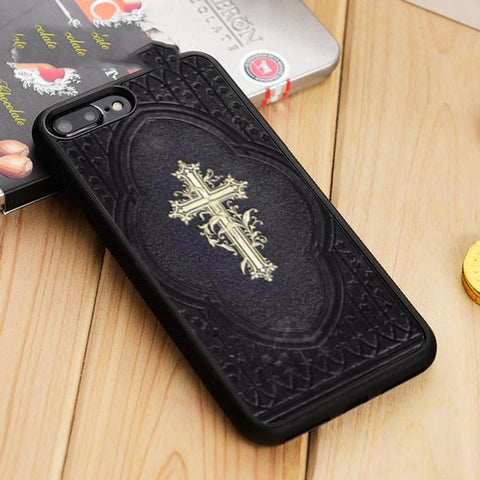 Cross on Bible Phone Case