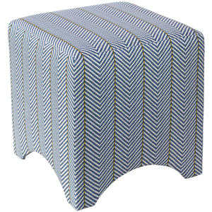 Sailor Chevron Ottoman