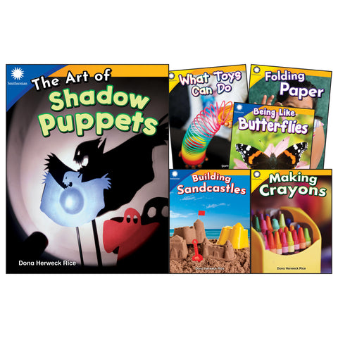 Fun In Action Grades K-1 6 Book Set Smithsonian Informational Text