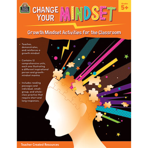 Growth Mindset For Classroom Gr 5+