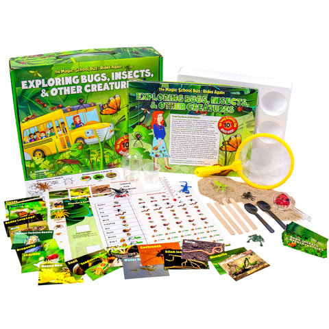 The Magic School Bus Exploring Bugs Insects And Other Creatures