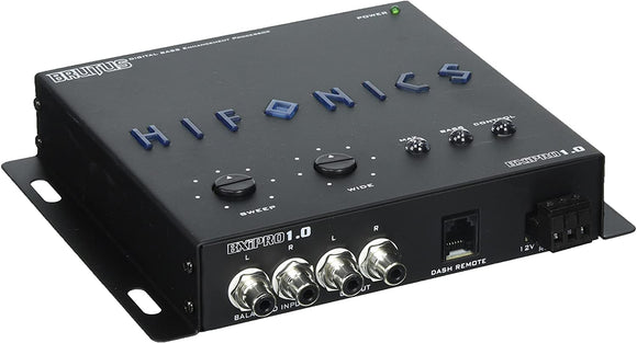 Hifonics BXIPRO1.0 Digital Bass Enhancement Processor with Dash Mount