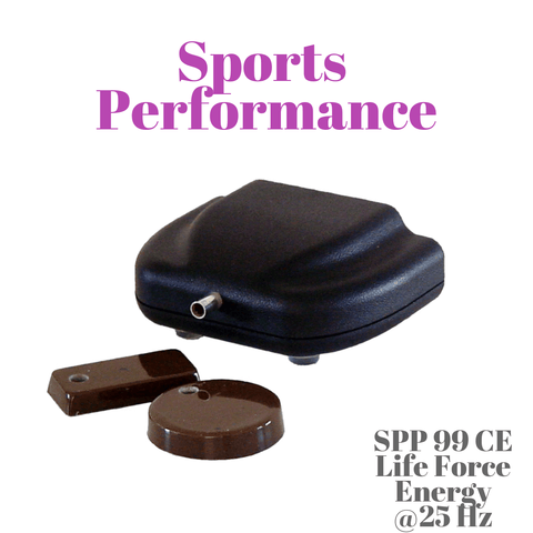 SPP 99 CE PRANA ORGONE CHI GENERATOR WITH 25 HZ FREQUENCY SETTING FOR SPORTS PERFORMANCE