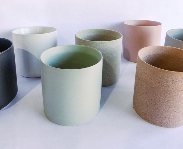 Our Pot Colour Range