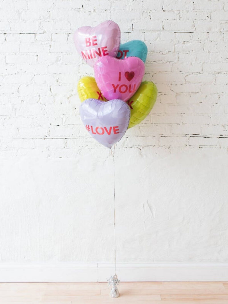 Candy Heart Balloons