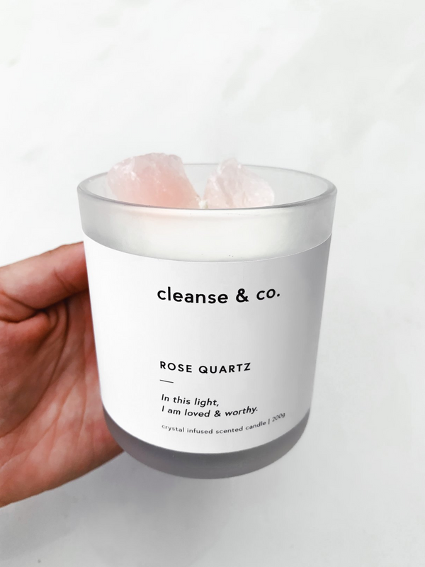 Add-On: Cleanse & Co Crystal Candle