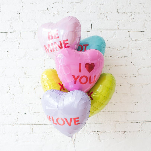 Add-On: Candy Heart Balloons