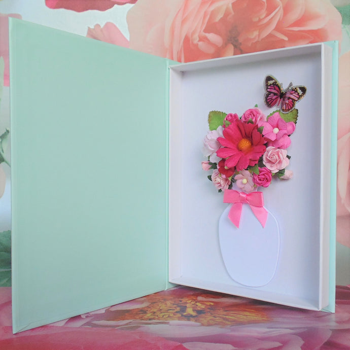 New Butterfly Flower Cards