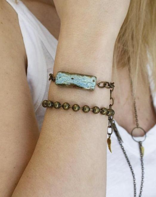 Small Rectangle Bracelet