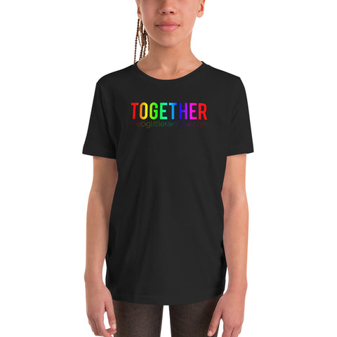 The Big Little Rainbow TOGETHER Youth Tee