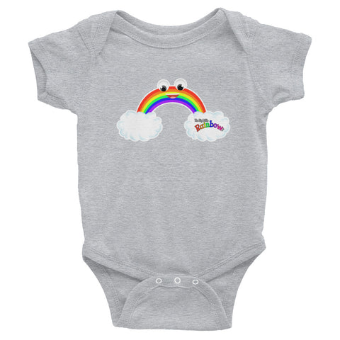 The Big Little Rainbow Cute Infant Bodysuit