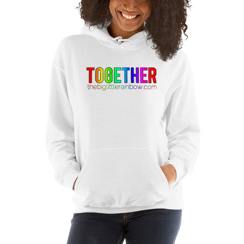 The Big Little Rainbow TOGETHER Hoodie