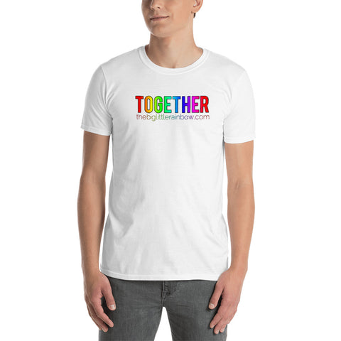 The Big Little Rainbow TOGETHER Men's Tee