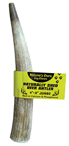 Nature' S Own Naturally Shed Elk Antler Dog Chew 🦌