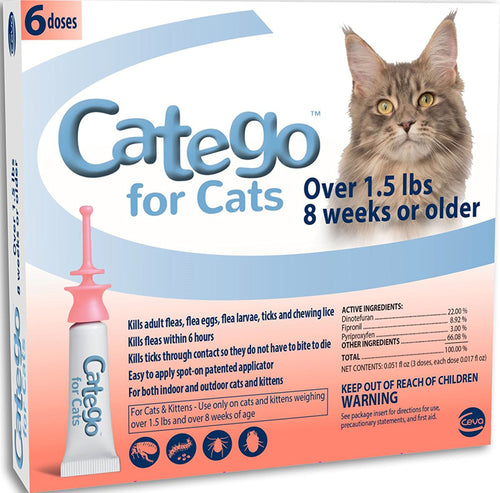 Catego For Cats Over 1.5 Lbs