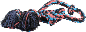 Flossy Chews Color 5 Knot Super Rope Tug Dog Toy