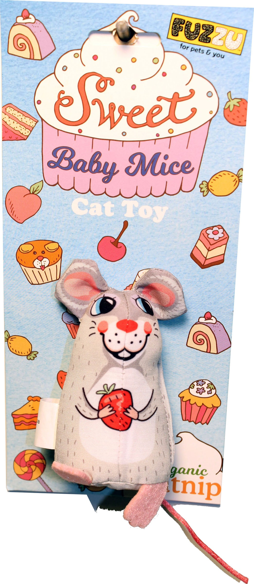 Sweet Baby Mice Sweetie Mouse Cat Toy