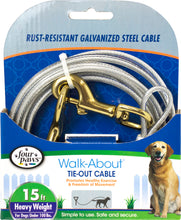 Load image into Gallery viewer, Four Paws Dog Tie Out Cable- Heavyweight