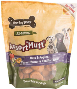 Assortmutt Treat Trio For Dogs