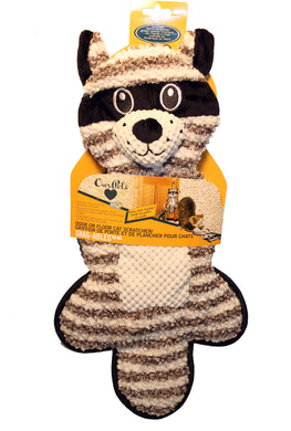 Snag-ables Door/floor Scratcher Raccoon