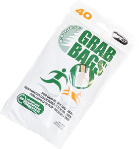Eco Friendly Dog Waste Grab Bags